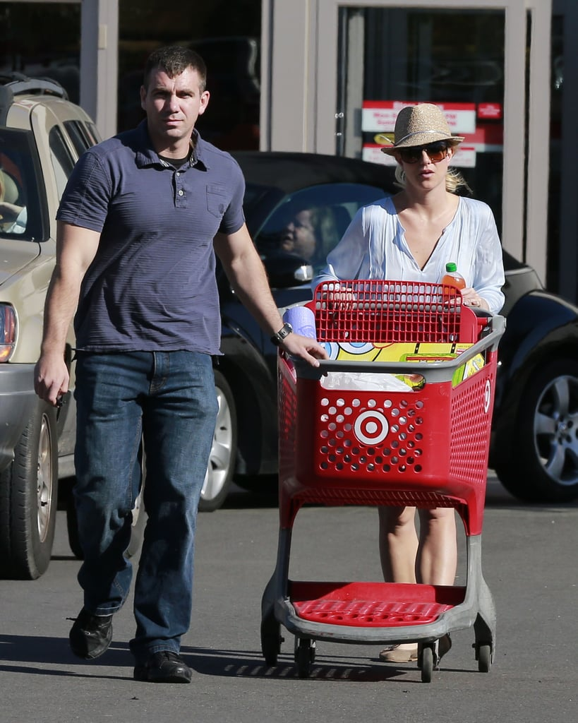 Britney Spears spent time out in LA.