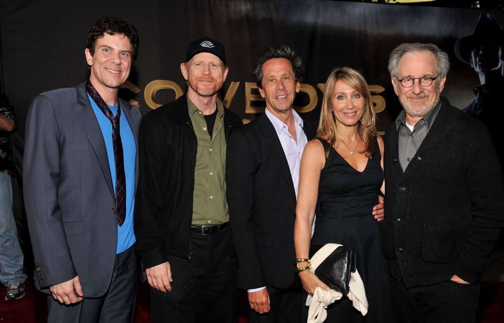 Hollywood's finest came out to support Cowboys and Aliens.