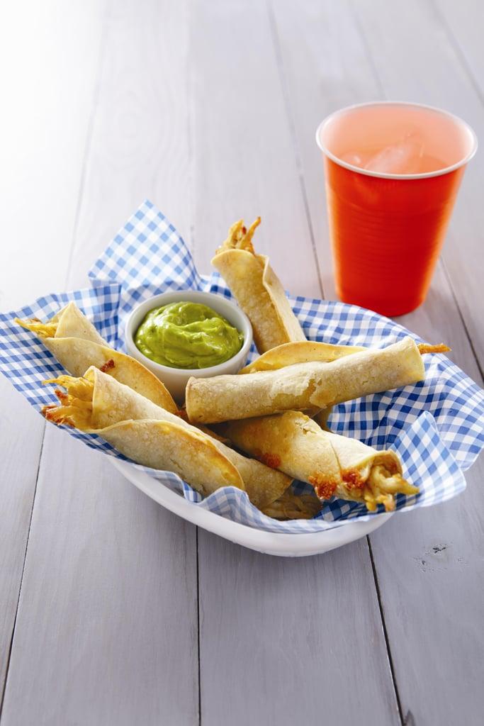 Recipes: Cheesy Chicken Taquitos
