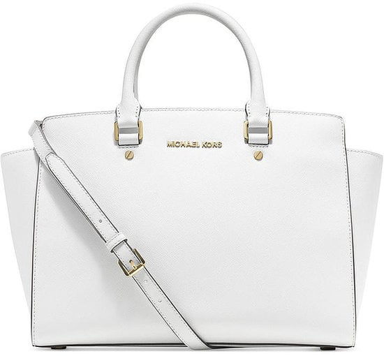 This Michael Michael Kors Selma Large East West Satchel ($358) could easily end the search for the perfect tote.
