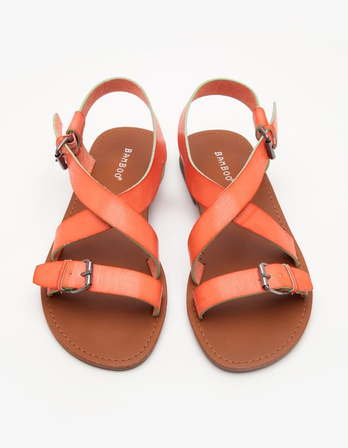 Strap on a basic pick like this Need Supply Co. style ($38) and forget about heels (at least for a little while).