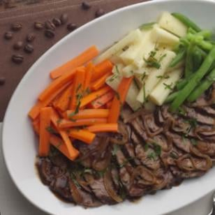 Pot Roast With Caramelized Onions