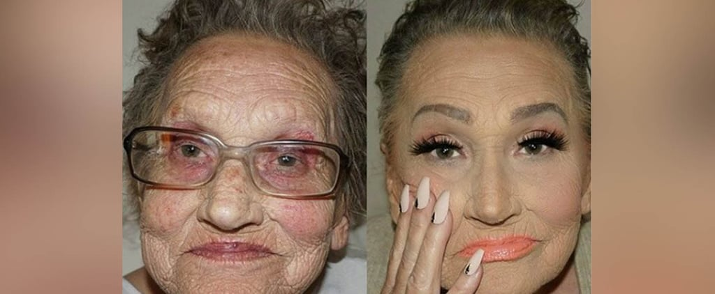 This Grandma's Glam Transformation Proves the Power of Contouring