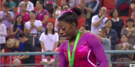 Simone Biles Did What Any Of Us Would've Done When She Saw A Bee