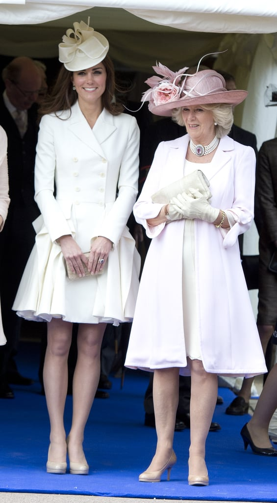 Kate Middleton at the Order of the Garter Service in 2011