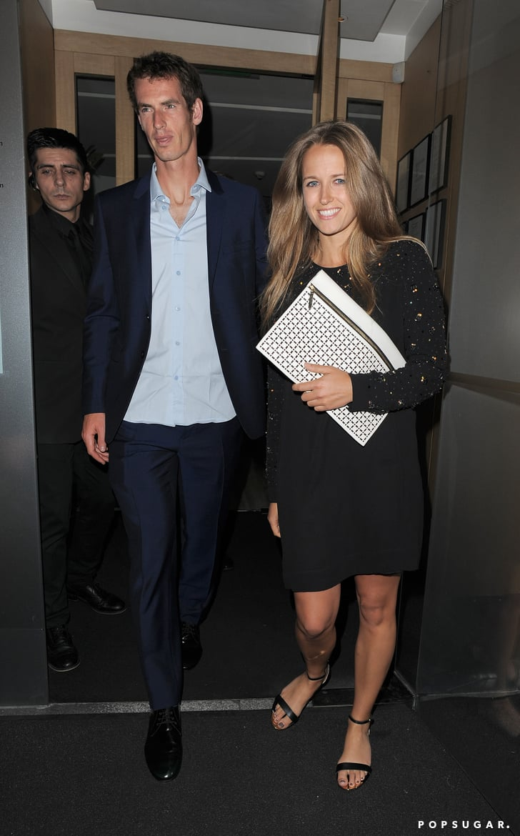Kim Sears and Andy Murray dined at Nobu with his mother, Judy Murray.