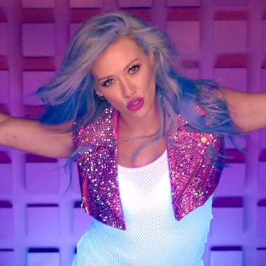 "Hilary Duff ""Sparks"" Video"