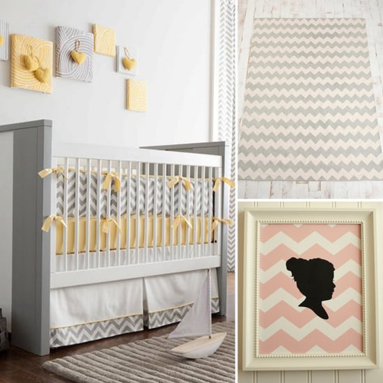 14 Chevron Chic Nursery Finds
