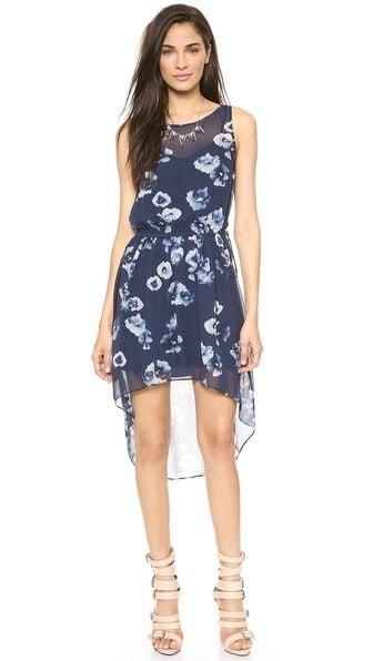 Haute Hippie Floral High Low Dress ($535)
