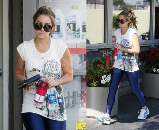 Photos of Lauren Conrad Working Out