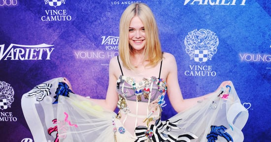 Elle Fanning's Sheer Dress Was Inspired by This '80s Music Icon