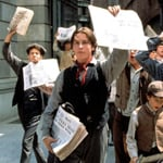 """Christian Bale Newsies Video """"The World Will Know"""""""