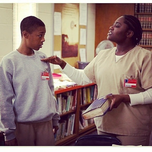 """Danielle Brooks posted this with the caption, """"Love to @oitnb-beyond First sneak peek of your two favorite pals! @whododatlikedat #june6 #season2."""" Source: Instagram user daniebb3"""