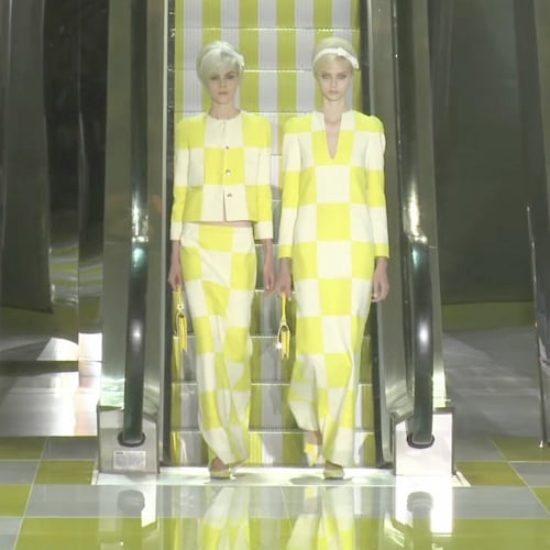 Louis Vuitton Spring 2013 Runway (Video)