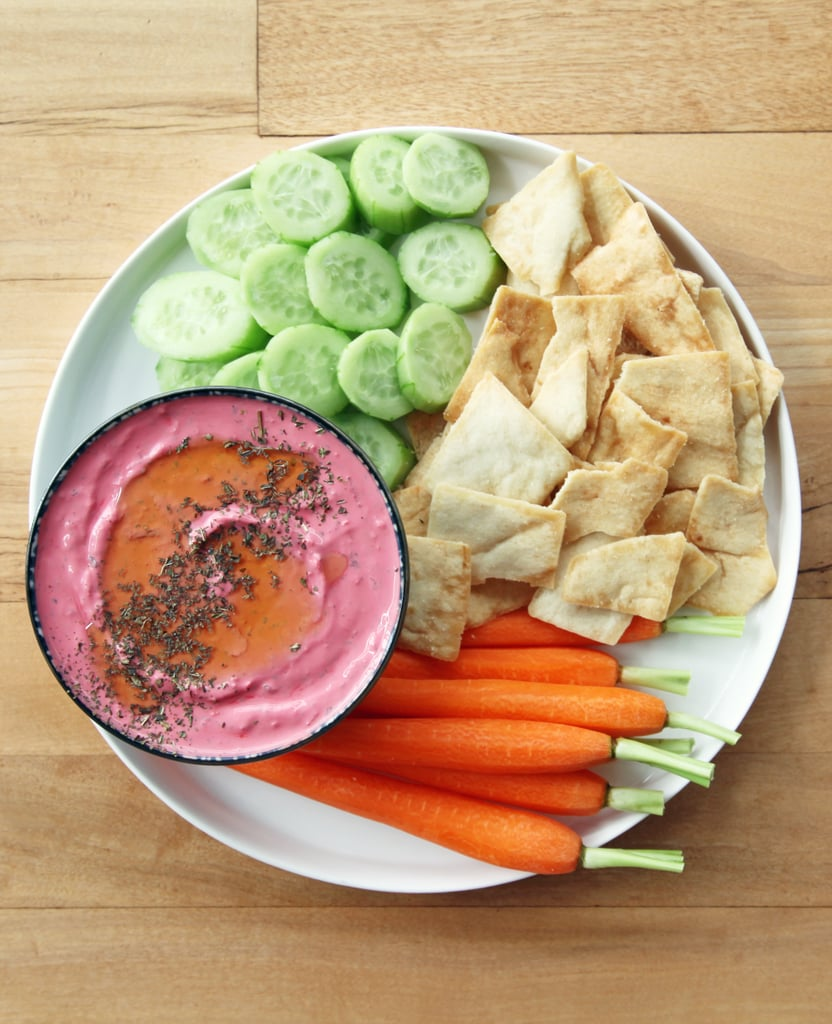 Beet-Mint Yogurt Dip