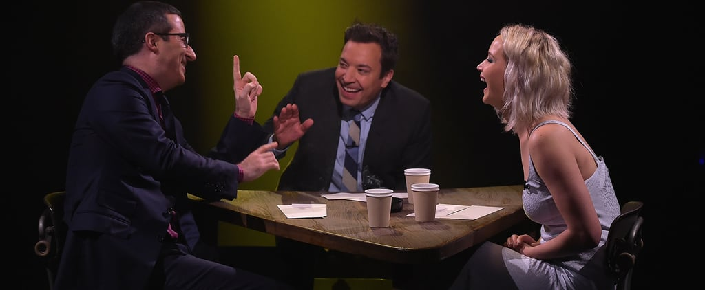 You'll Never Guess What Jennifer Lawrence Confesses to Doing on the Hunger Games Set