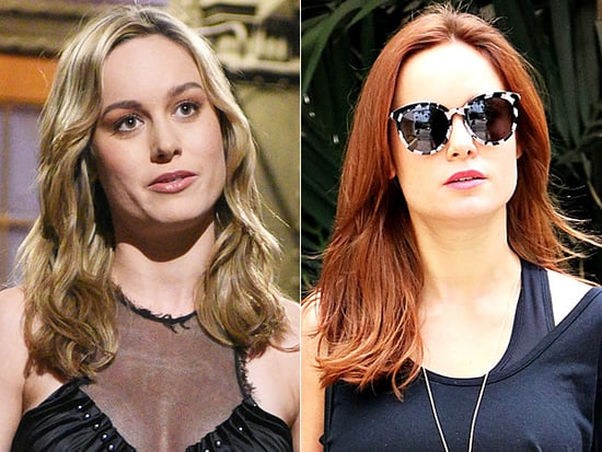 Red Hot! Brie Larson Proves She's a True Hair Chameleon with a Bold New Hair Hue