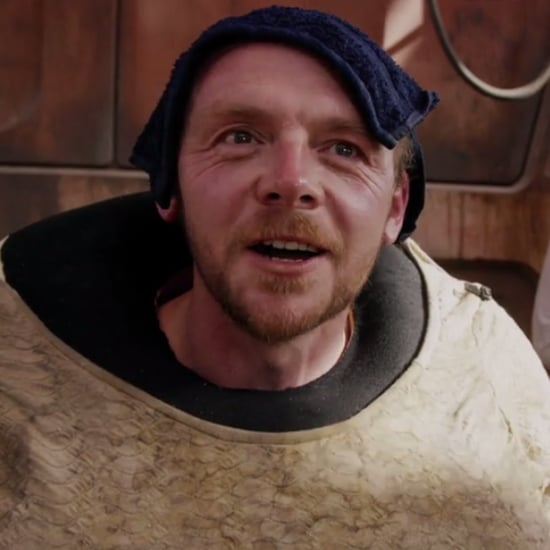 Simon Pegg Star Wars Interview