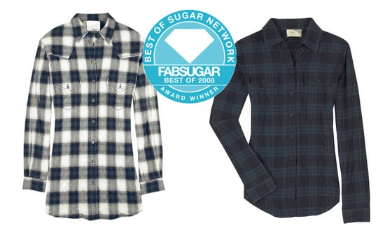 Plaid Shirt is Favourite Trend Item of 2008