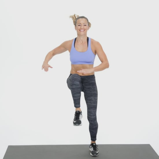 Standing Lower-Ab Exercise