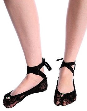 Betsey Johnson Ballet Lace Up Sock: Love It or Hate It?