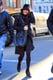 On Thursday, Lea Michele filmed Glee in NYC.