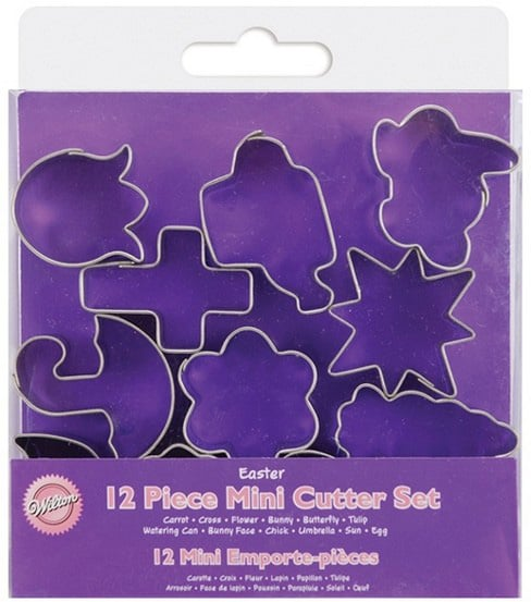 Wilton's Easter-Themed Metal Cutters