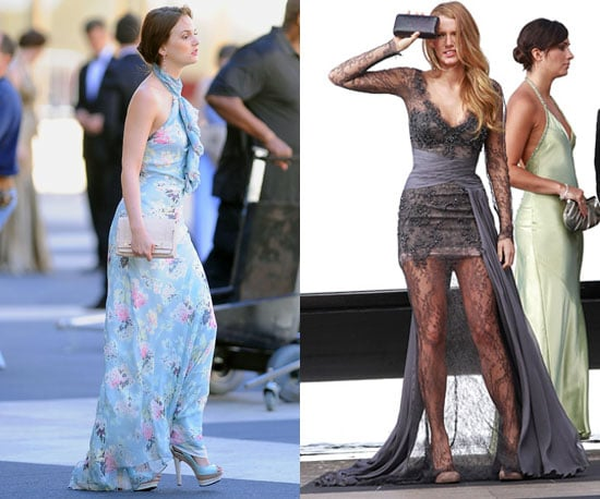 Pictures of Leighton Meester and Blake Lively on Gossip Girl Set 2010-09-21 13:00:05