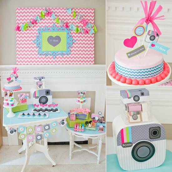 A Tween-Tastic Instagram-Themed Birthday Party