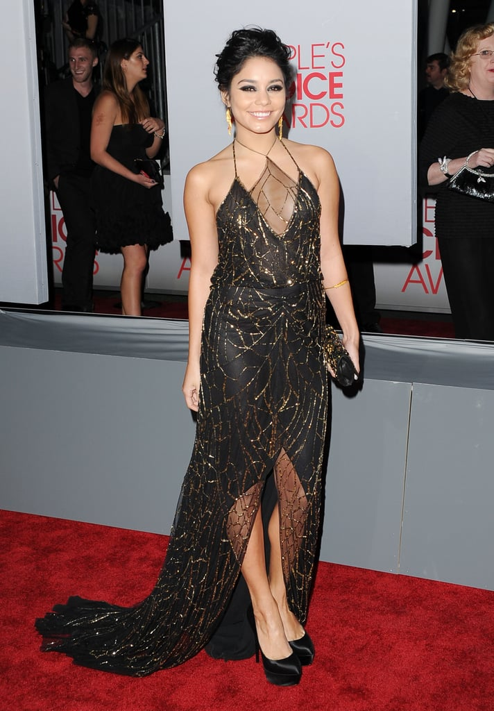 Vanessa Hudgens sparkled at the People's Choice Awards.
