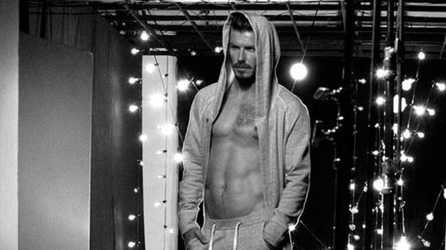 Video: David Beckham Claims Butt and Crotch in H&M Ad Are His!