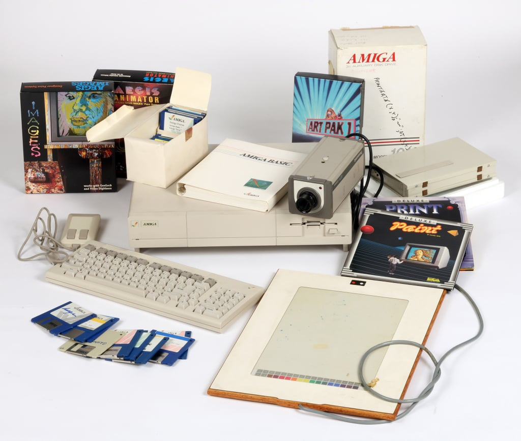 Andy's Commodore Amiga Computer Equipment