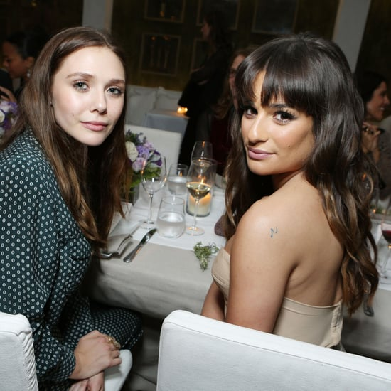 Elizabeth Olsen, Lea Michele at Marie Claire Dinner in LA