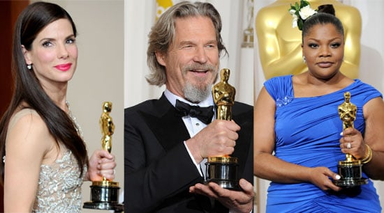 Full List of Winners and Photos From Backstage in the Press Room at the Oscars 2010