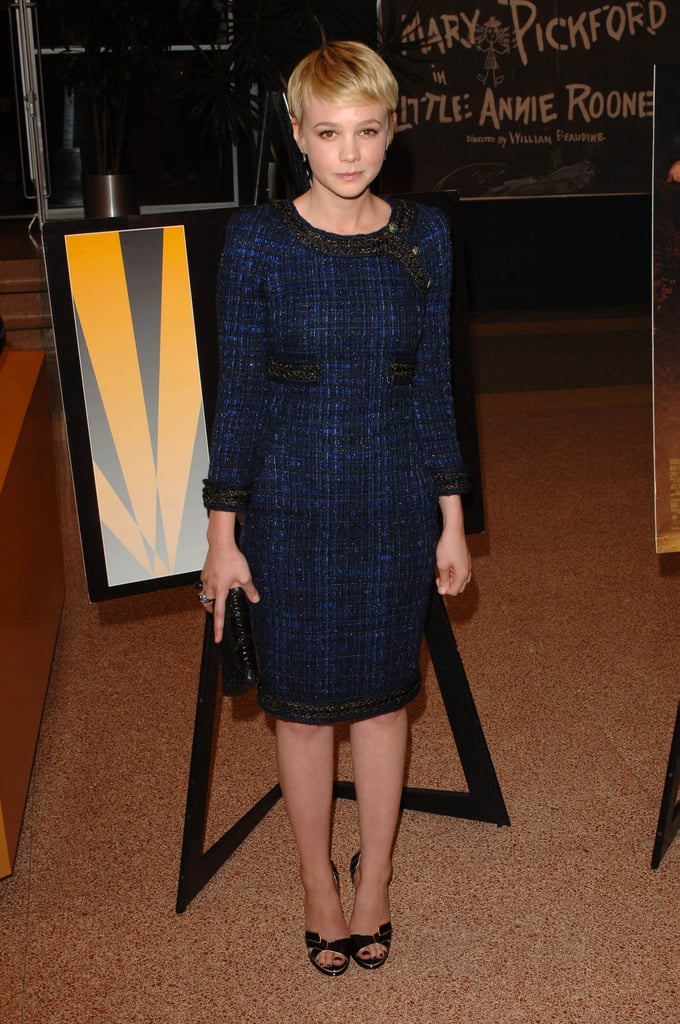 Carey Mulligan in Tweed Chanel at the 2010 The Greatest LA Premiere