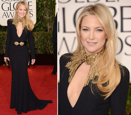 Kate Hudson was glimmering in Alexander McQueen. Did you love her look? Vote for her and in all of our red-carpet polls here!