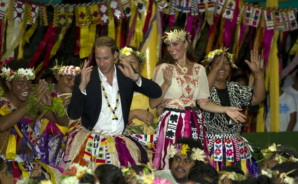 Kate Middleton and Prince William memorably danced during their September stay in Tuvalu.