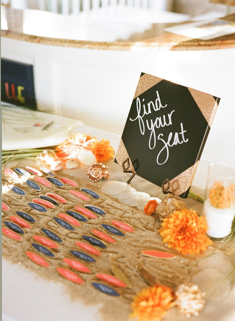 Surfboard Place Cards