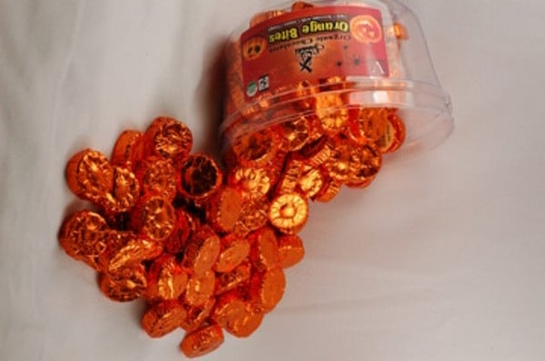Sjaak's Halloween Orange Bites ($33 for 93 pieces)
