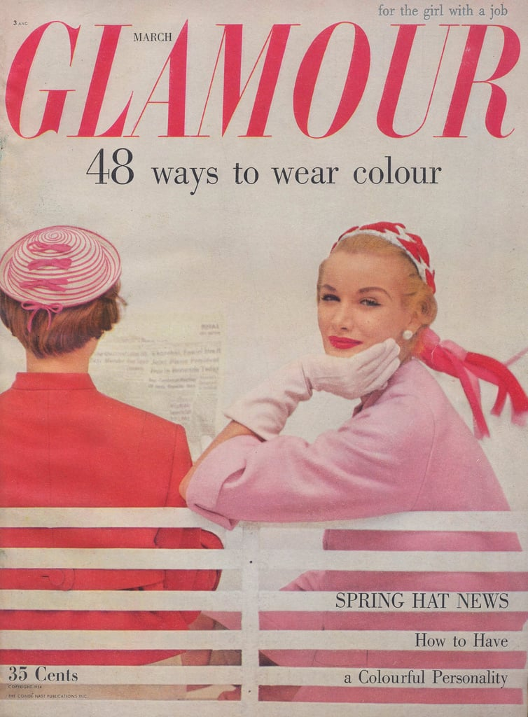 "Glamour: ""for the girl with a job."""