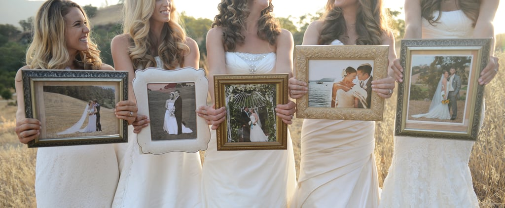 This Sister Wedding Dress Shoot Is the Cutest Idea Ever