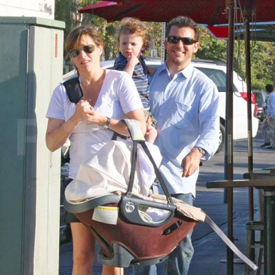 Fred Savage and His Family Out to Lunch