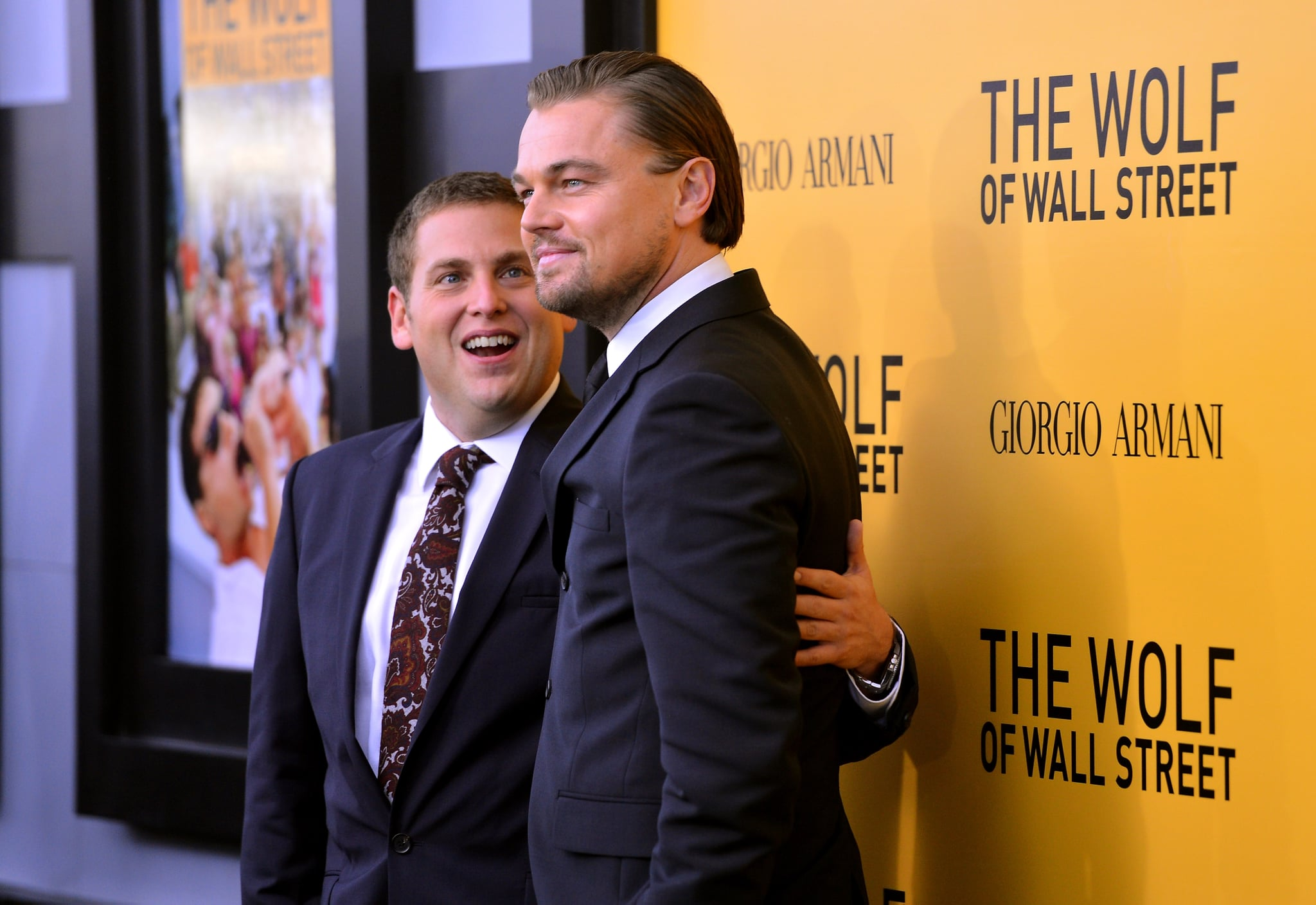 Jonah Hill was in awe of his The Wolf of Wall Street costar Leonardo DiCaprio.