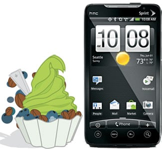 EVO 4G Getting Android 2.2 Froyo This Weekend