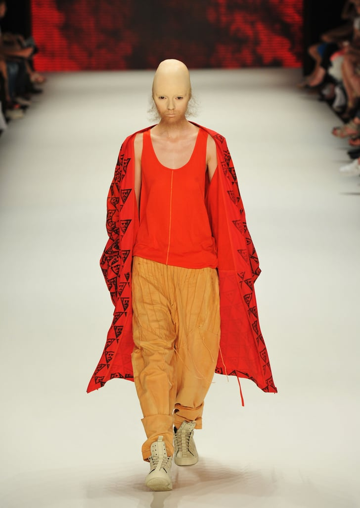 Pictures of Models With Beards at Patrick Mohr Show at ...