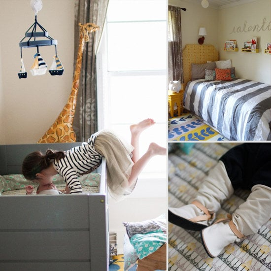 Baby Valentin's Shared Nursery and Guest Room Space