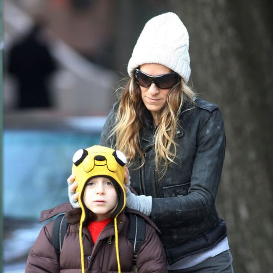 Picture of Sarah Jessica Parker and James Wilkie Broderick in Hats