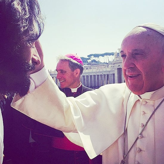 Pope Blesses Rodrigo Santoro, Actor Playing Jesus in Ben-Hur Remake