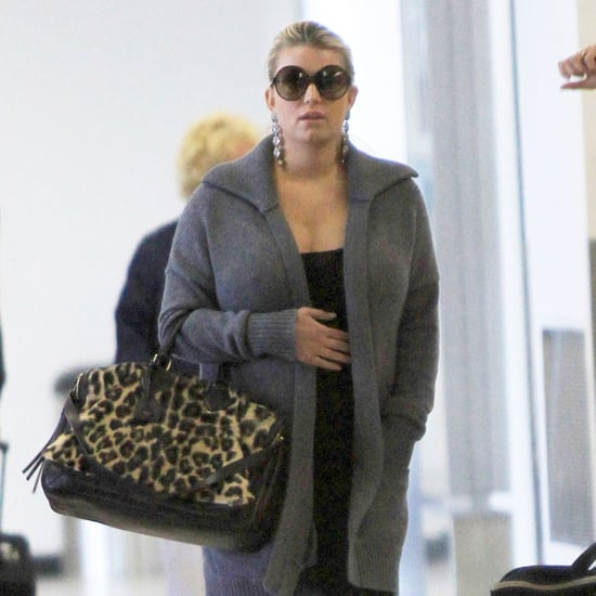 Jessica Simpson Leaving LAX Pictures