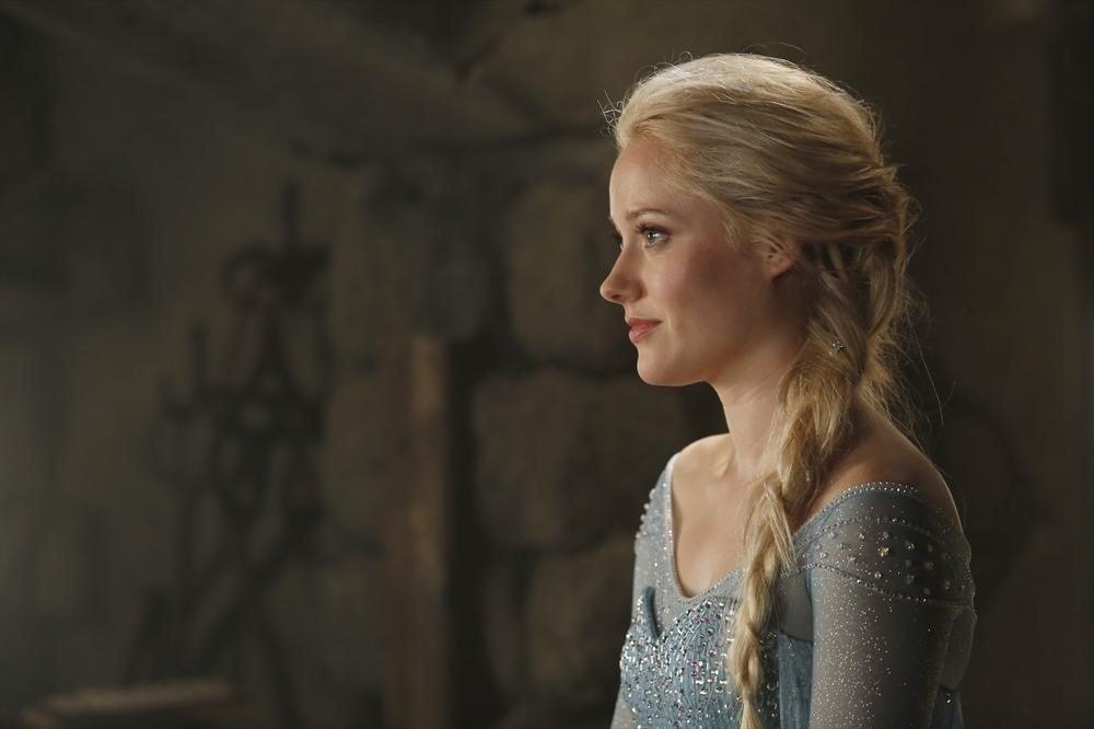 Georgina Haig as Elsa on Once Upon a Time.